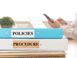 Policies and Procedures Binder