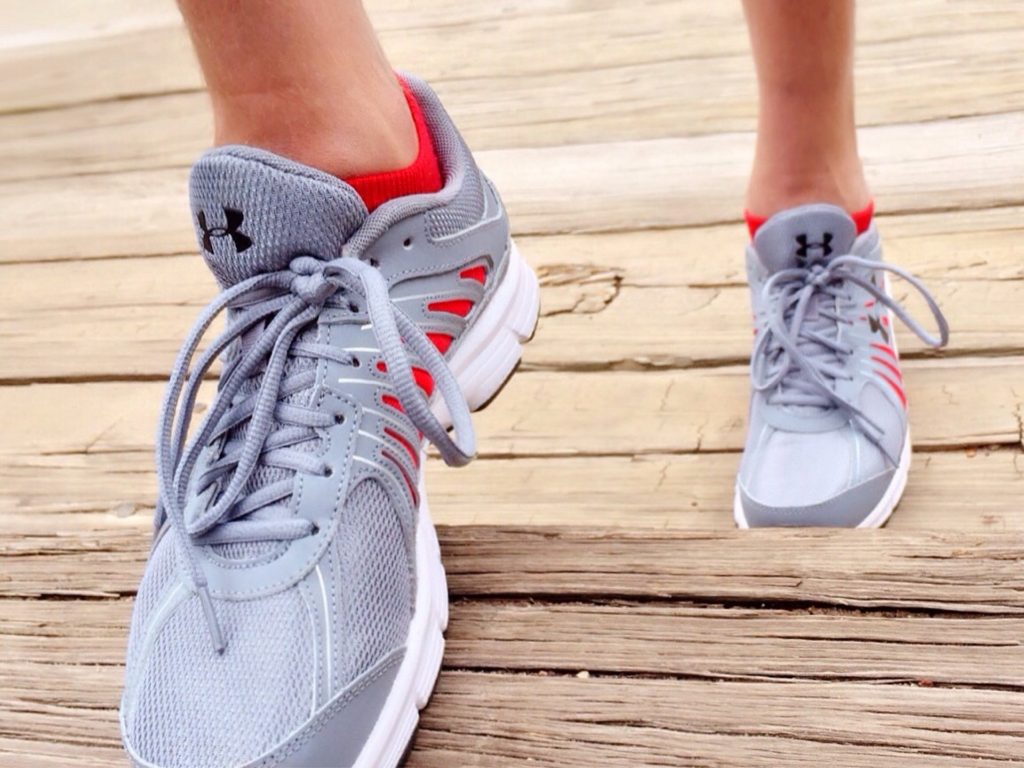 Exercising helps reduce stress.