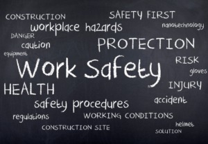 Workplace Safety Word Cloud