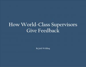 cover_how world-class supervisors give feedback